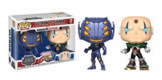 Funko Pop Marvel Vs Capcom 2pk Ultron Vs Sigma
