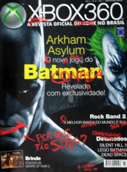 Revista Xbox 360 23 Batman Arkham Asylum Silent Hill 5