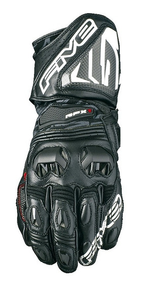 Guantes Five Racing Rfx1 Negro/blanco Mh&s