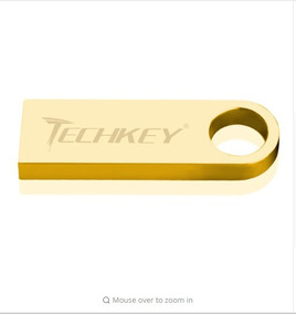 Pendrive 32gb Resistente A Água Original Marca Techkey 32gb