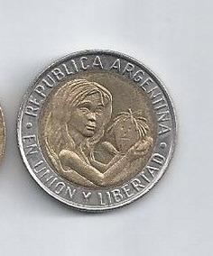 Argentina Moneda 1 Peso Unicef 1996
