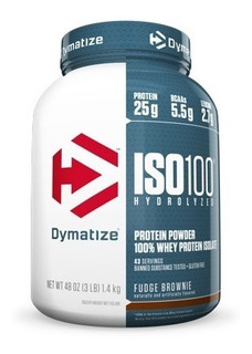 Iso 100 Whey 3 Libras Dymatize Proteina Hidrolizada