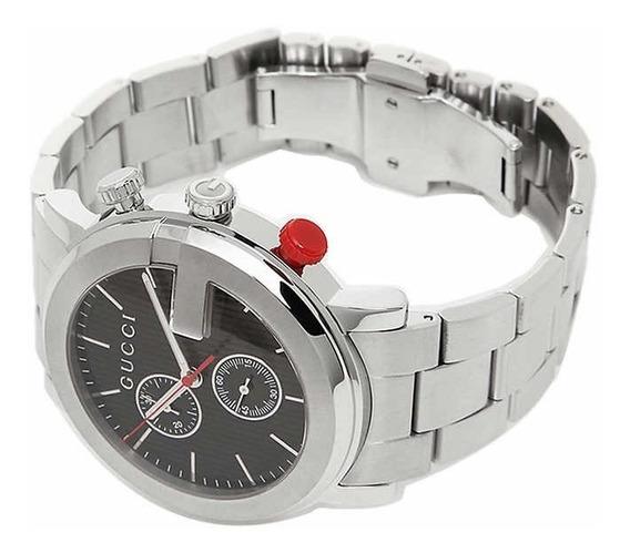 Relógio Gucci Masculino - Aço Inoxidável/cronógrafo/original