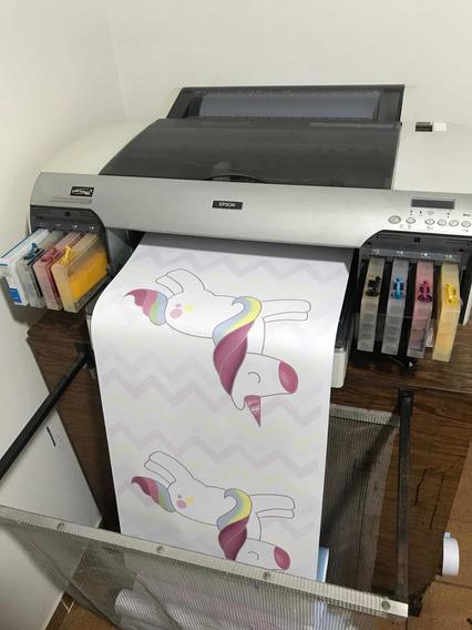 2 Impressora Epson Stylus Pro 4800 Plotter E Sublimatica
