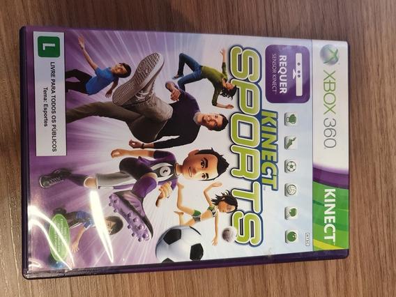 Kinect Sports - Xbox 360 - Usado - Original