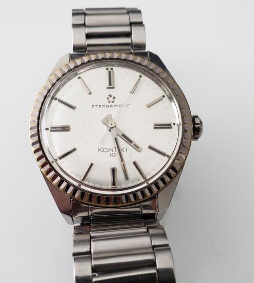 Relógio Antigo Eternamatic Kontiki 10