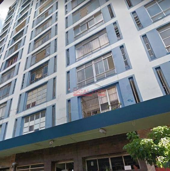 Studio Com 1 Dormitório Para Alugar, 18 M² Por R$ 900,00/mês - Santa Cecília - São Paulo/sp - St0196