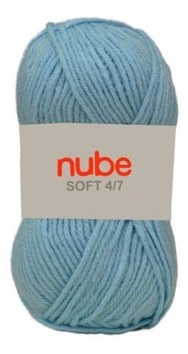 Hilado Cashmilon Nube Soft 4/7 X 10 Ovillos - 1 Kg Por Color