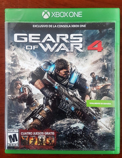 Xbox One Gears Of War 4 Original Fisico =nuevo