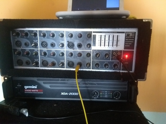Consola Profesional Mte Audio Americana, Planta, Power.