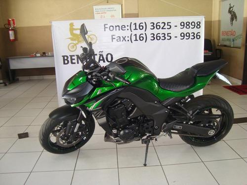 Kawasaki Z 1000 Verde 2018