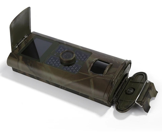 Câmera De Caça Para Trilha Com Tela Led Profissional Hc 200a