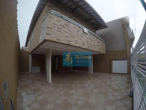 Casa Com 2 Dormitórios À Venda Por R$ 175.000 - Caiçara - Praia Grande/sp - Ca0037