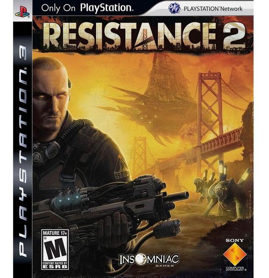 Jogo Resistance 2 (usado) Ps3