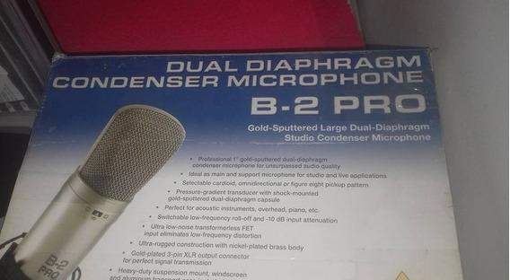 Mic Condensador B-2 Pro Behringer E Placa Scarlet 2 I 4