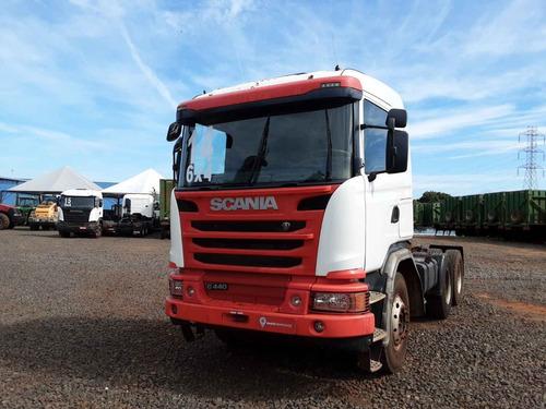 Scania G 440 6x4 Bug Pesado ( Vamos Seminovos )