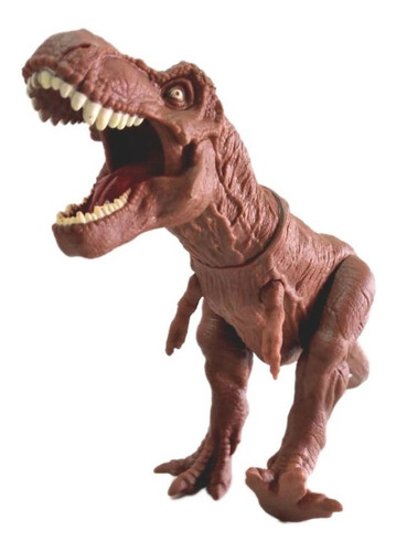 Imagem 1 de 7 de Brinquedo Dinossauro 50 Cm Tiranossauro Rex Vinil - Miketa