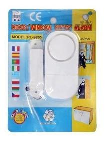 Alarme Residencial Sensor Magnético S/fio P/janela E Porta