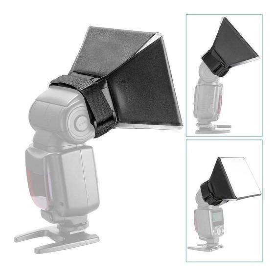 Mini Softbox Df5 Para Uso Flash Speedlight Estudio Foto.