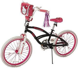 Hello Kitty 8108-60tj Bicicleta Para Ninas, 20 Pulgadas, Neg