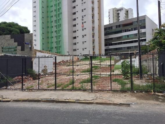 Terreno Comercial Para Locação, Aflitos, Recife. - Te0041