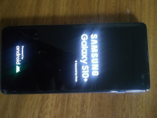 Samsung S10 + Plus Negro Liberado + Funda