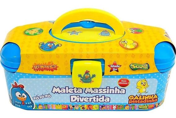 Maleta Massinha Divertida Galinha Pintadinha Original Sunny