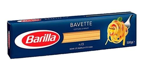 Fideos Italianos Pasta Barilla Bavette 500g Envio Grati Caba