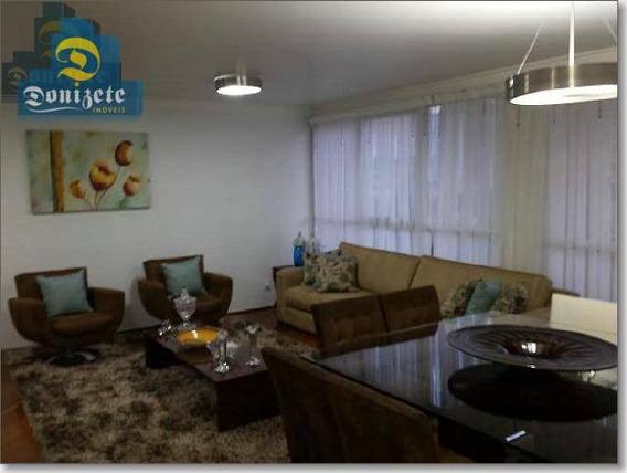 Apartamento Com 129 M2 - 3 Dormitórios - 2 Suítes - Lazer Completo - 2 Vagas Para Venda Na Vila Assunção. - Ap7053