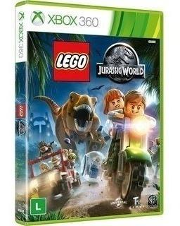 Lego Jurassic World Xbox 360   Mídia Física Original