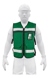 Chaleco Brigadista Color Verde Truper 14664