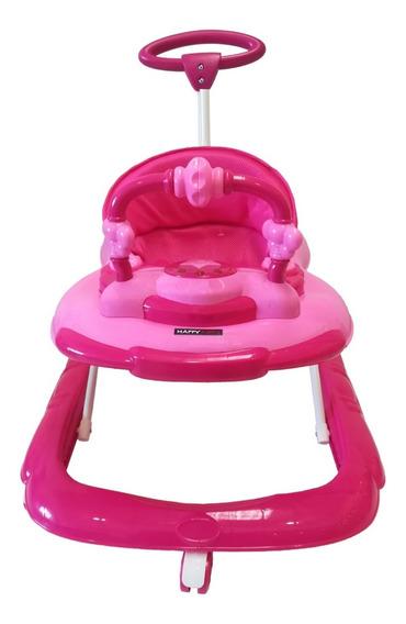 Caminador Musical Happy Baby Cmf-f20 Rosa