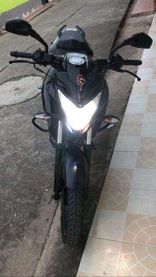 Pulsar Ns 160 Td, Color Negra, Modelo 2020