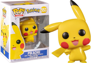 Funko Pop Pikachu 553 Pokemon Games - Minijuegos