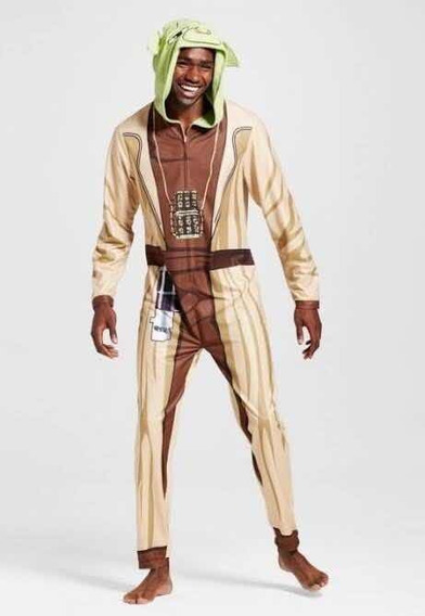 Yoda Pijama Mameluco Star Wars Unisex