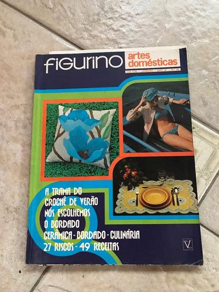 Revista Figurino 29 Crochê Bordado Culinária Cerâmica D176