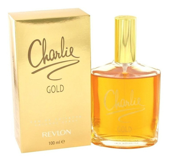 Perfume Feminino Charlie Gold By Revlon 100ml Edt Original!!