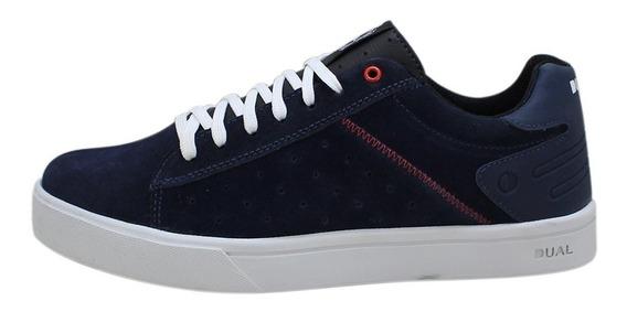 Tênis Skate Footwear Azul Marinho Feminino Original Promoção