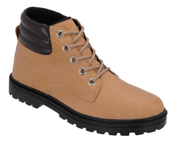 Bota Masculina Sapato Coturno Casual Ref:10.001