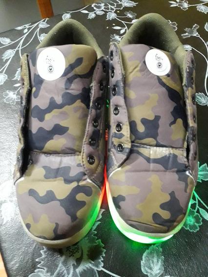 Zapatillas Número 38 Footy Con Luces