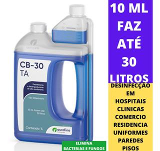 2 Desinfetante Cb 30 Ta 1l - Ourofino -sua Casa Mais Segura