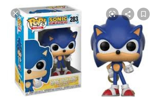 Sonic Sími Funko Pop! #283