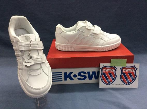 Tenis K-swiss Kid Court Boys Blanco
