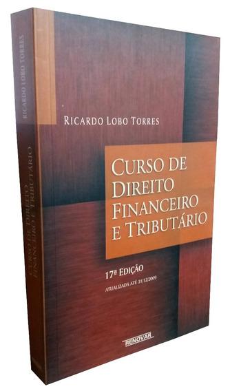 Livro Curso De Direito Financeiro E Tributário + Brinde