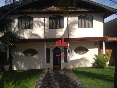 Imagem 1 de 18 de Casa Com 4 Dormitórios À Venda, 170 M² Por R$ 1.000.000 - Centro - Nova Odessa/sp - Ca2140