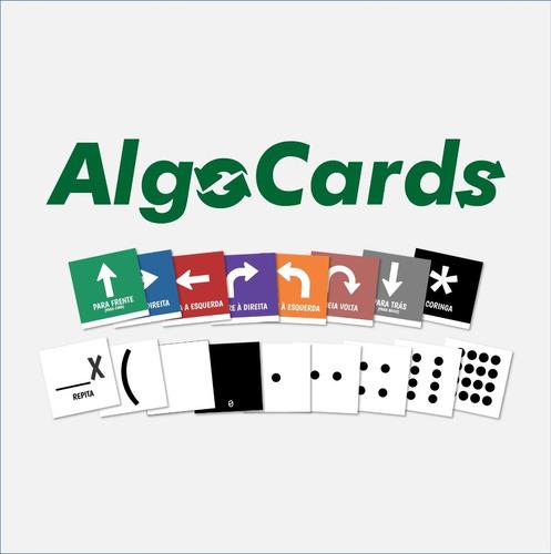5 Baralhos Algocards 2020 - Pensamento Computacional