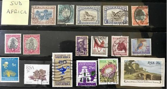 Estampillas De Sudafrica Antiguas! Lote De 17 Leer