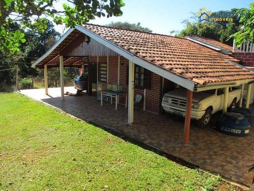 Chácara Com 2 Dormitórios À Venda, 2350 M² Por R$ 400 Mil- Maracanã - Jarinu Sp - Ch1249