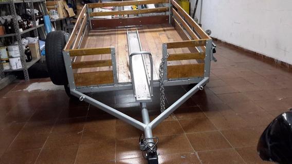 Carreta Fazendinha E Moto C/ Estepe