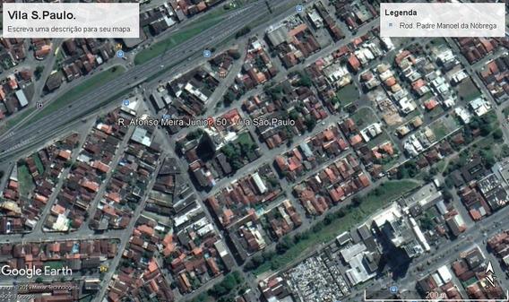 Casa Esquina Comercial Vl S. Paulo 2 Dor Terreno 200m²